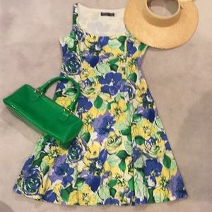 Cute and comfortable multicolored sundress